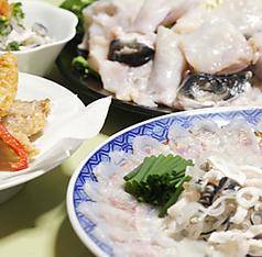 旬肴ふく堀田のコース写真