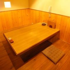 【少人数様にも◎】2~4名様用の掘り炬燵式完全個室!!