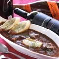 料理メニュー写真自家製黒毛和牛のタンシチュー
