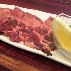 厚切りタンの塩焼き/和牛カクマク(100g)/角切りペッパーカルビ/自家製 ローストビーフ