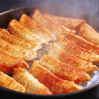 肉汁溢れる博多屋台の鉄鍋餃子☆★