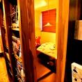 本棚の裏にある隠れ個室★