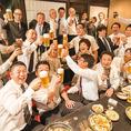 歓送迎会ご予約承り中!ご宴会は「九州自慢ハマボールイアス店」で!ご予約、ご相談お待ちしております!