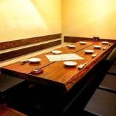 掘り炬燵個室は8名様まで可能です♪周りを気にせずワイワイ愉しみませんか?