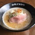 料理メニュー写真極!鶏白湯らー麺