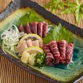 料理メニュー写真桜肉3点盛り