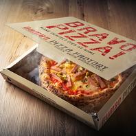 ○美味しいナポリピザをテイクアウト♪