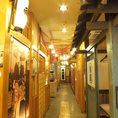 昔の日本を彷彿とさせる。和な装飾が店内のいたるところにほどこされております!どことなく懐かしい雰囲気も感じさせる素晴らしい店内の数々♪