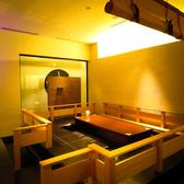 【掘りごたつ個室】新感覚!イタリアンを掘りごたつ個室で。2~6名迄OKです。接待や記念日、お祝いの席はこちらでどうぞ。