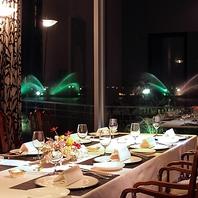琵琶湖の夜景を見渡せる、4名様~8名様の個室