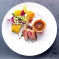 料理メニュー写真A4黒火乃牛リブロースステーキ