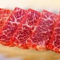 こだわりのお肉の数々、ご堪能ください。