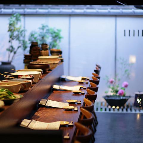 京都の情緒あふれる町屋で四季折々の食材を堪能!2階お座敷は個室利用可能OK!