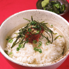 出汁茶漬け(鯛/胡麻鯖)