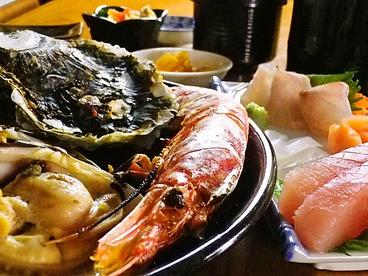 海の食堂はっかいのおすすめ料理1