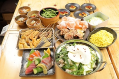 恵美須商店 南2西5のコース写真