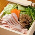 料理メニュー写真【イチ押し!】常陸ポークとたっぷり野菜のセイロ蒸し(おろしポン酢)