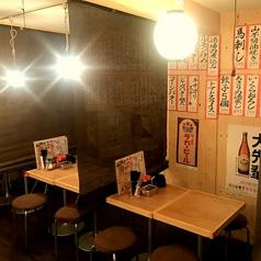 プライベートな飲み会に最適なテーブル半個室。