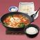 豆富チゲと鍋セット