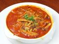 料理メニュー写真牛ハチノスとキノコのトマト煮