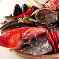 料理メニュー写真地元を初め全国各地から集まる鮮魚