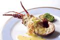 料理メニュー写真三重県産伊勢海老のグリル ハーブバターソース