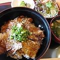 料理メニュー写真豚蒲丼(三ケ日ポーク)