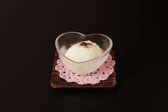 料理メニュー写真マスカルポーネアイス