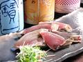 料理メニュー写真カツオのたたき 塩or醤油