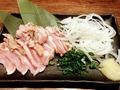 料理メニュー写真宮崎鶏のたたき
