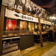 函館市場の食堂を錦で体験!自慢の北海道料理が豊富!
