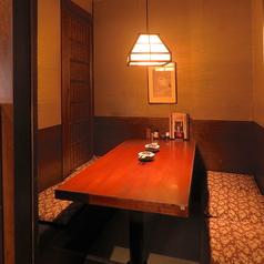 個室なので周りを気にせず、お話やお料理をお楽しみいただけます!ご予約お待ちしております♪