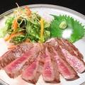 料理メニュー写真土佐赤牛サーロインステーキ(A4ランク)1980円