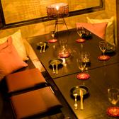 中規模宴会におすすめのお席です。足を伸ばしてゆったりとお寛ぎください。新宿での飲み会、女子会、二次会など◎宴会や飲み会、女子会や合コンはもちろん、デートや記念日にも◎