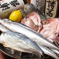 魚…≪かね秀≫から毎日仕入れる旬の鮮魚が自慢!!