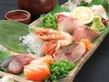 料理メニュー写真新鮮鮮魚の刺し盛り