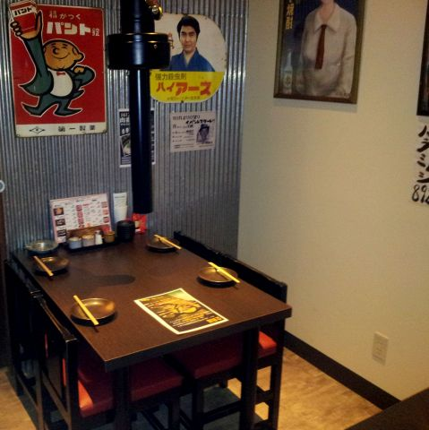テーブルのお席です。ご家族やご友人同士など、ご利用シーンはさまざま♪