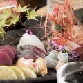 料理メニュー写真市場直送刺身6種の盛り合わせ