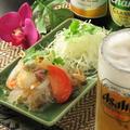 料理メニュー写真ヤムウンセン「春雨のシーフードサラダ」