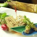 料理メニュー写真旬魚の香草焼き