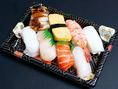 お寿司や穴子重など、テイクアウトも承っております♪お土産にも人気です。また、海ごこちの味をご自宅でも是非お楽しみ下さい。