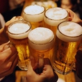 飲み放題プランをご用意しております!ドリンクメニューには、ビールを始めカクテルやサワーをご提供しております★焼酎は九州ならではの焼酎を取り揃えており、日本酒も様々な銘柄をご提供致します!お好みのお酒をお探しください♪
