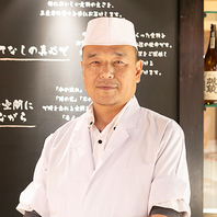 この道40年。露菴総料理長が素材からこだわったお料理を