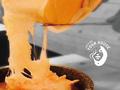 料理メニュー写真石焼きラクレットチーズリゾット