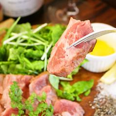 高級イベリコ豚の鉄鍋焼き