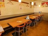 ☆Aホール入口から、左側のテーブルシート席!★4名(テーブルシート2名)×4つ★