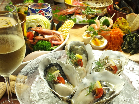 ★各ご宴会におススメコース飲み放題付あり★《三陸漁港から直送の新鮮な魚介を使用》