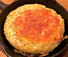 料理メニュー写真2種類チーズの焼きリゾット