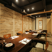 落ち着いた雰囲気漂う和個室ご用意しております☆接待や顔合わせなど大事なお食事会にぜひご利用ください。
