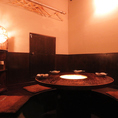 ゆったり楽しめる隠れ家個室は、早い者勝ちの人気のお席!プライベートな会にはもちろん、記念日のデートや女子会、家族での水入らずにも使えますよ♪ひと席限定のお席ですので、お早めのご予約をオススメします!